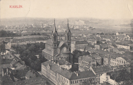 KARLIN                BEL AFFRANCHISSEMENT - Tsjechië