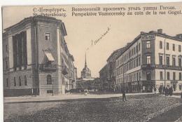 SAINT PETERSBOURG       PERSPECTIVE VOZNECENSKY AU COIN DE LA RUE GOGOL        BEL AFFRANCHISSEMENT - Rusland