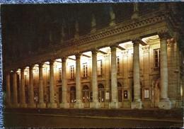 Bordeaux - Le Grand Théâtre - La Nuit . - Bordeaux