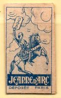 Rasage. Razor Blade. Lame De Rasoir. Lame Jeanne D'Arc. France. - Razor Blades
