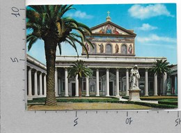 CARTOLINA VG ITALIA - ROMA - Basilica Di S. Paolo - 10 X 15 - ANN. 1966 - Kerken