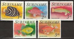 Suriname 1976 Vissen, Fishes  MNH/**/Postfris - Suriname
