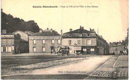 SAINTE MENEHOULD .... RUE DE L HOTEL DE VILLE - Sainte-Menehould