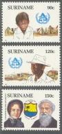 Suriname 1987 Daklozen, Logement Des Sans-abri, Leger Des Heils, Salvation Army MNH/**/Postfris - Suriname