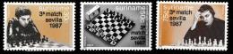 Suriname 1987 Schaakkampioenschappen, Chess, Schaken, Schach, échecs  MNH/**/Postfris - Suriname