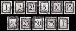 Suriname 1956  Port NVPH 47-57 Complete  Gestempeld/used - Surinam ... - 1975