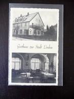 Günzburg Gasthaus Zur Stadt Lindau 1941 - Guenzburg