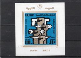 AEGYPTEN 1973 ** - Blocks & Sheetlets