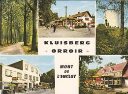 BELGIQUE. MONT DE L'ENCLUS. CARTE MULTIVUES KLUISBERG ORROIR . ANNÉE 1970 - Mont-de-l'Enclus