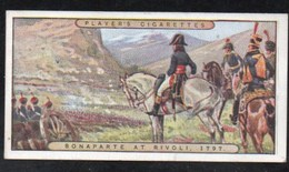 Vieux Papiers > Chromos & Images > Non Classés JOHN PLAYER Cigarettes BONAPARTE AT RIVOLI  N°8 - Old Paper