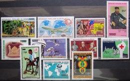 BENIN                N° 594/604                NEUF** - Bénin – Dahomey (1960-...)
