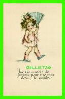 """ENFANTS, CARTES HUMORISTIQUES DE"""" RUTH WELCH SURR """" - LAISSEZ-MOI ! JE FLIRTAIS POUR RIRE,VOUS DEVEZ LE SAVOIR - - Cartes Humoristiques"""