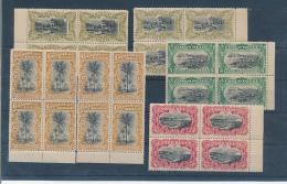 BELGIAN CONGO  1909 ISSUE COB 50/53 + 52a + 53a MNH - 1894-1923 Mols: Neufs