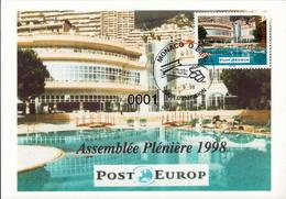 N° 2171Post Europe  04/09/1998 - Maximumkarten (MC)