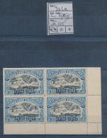 BELGIAN CONGO  1909 ISSUE COB 33La L1 (25C TYPE II) MNH - 1894-1923 Mols: Nuevos