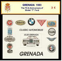 "1983 - GRENADA - The 75 Th Anniversary Of  Model ""T"" Ford - Grenada (1974-...)"