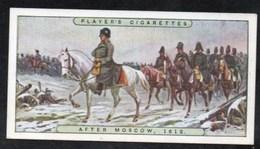 Vieux Papiers > Chromos & Images > Non Classés JOHN PLAYER Cigarettes NAPOLEON APRES MOSCOU N°21 - Old Paper