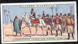Vieux Papiers > Chromos & Images > Non Classés JOHN PLAYER Cigarettes BONAPARTE LENDS HIS HORSE N°10 - Old Paper