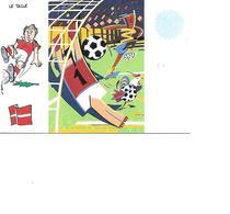 CARTE POSTALE SPORT MONDIAL 1998 LE TACLE - Fussball