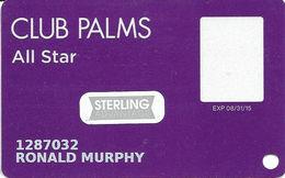 Palms Casino Las Vegas NV - Slot Card With Senior Sticker - Casino Cards