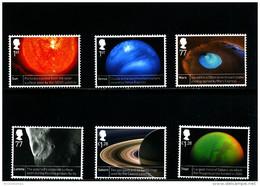 GREAT BRITAIN - 2012  SPACE SCIENCE  SET  MINT NH - 1952-.... (Elisabetta II)