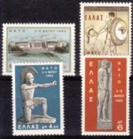 1962 - GRECIA - CONFERENZA NATO - Nuova Con Gomma Integra - Grecia
