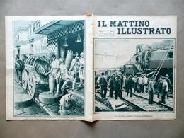 Disastro Ferroviario Bellinzona Nuvolari GP Tigullio Il Mattino Illustrato 1924 - Livres, BD, Revues