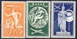 1956 - GRECIA - POSTA AEREA - NATO - Nuova Con Gomma Integra - Grecia