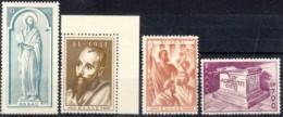 1951 - GRECIA - ARRIVO DI SAN PAOLO IN GRECIA - Nuova Con Gomma Integra - Grecia