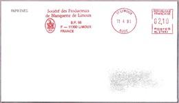 Sociedad De Productores De BLANQUETTE DE LIMOUX - Vino Espumoso - Wine. Limoux 1991 - Vinos Y Alcoholes