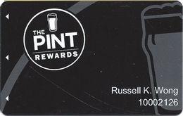 The Pint - Las Vegas NV - Pub / Casino Player Rewards Slot Card - Casino Cards
