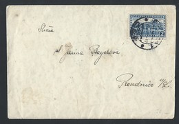 1ch.Intercity Simple Closed Letter. The Mail Passed In 1929 Prague Roudnice. - Czechoslovakia