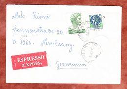 Espresso Expres, MiF Donatello U.a., Forza D' Agro Ueber Frankfurt + Kempten Nach Nesselwang 1979 (56181) - 1971-80: Usati