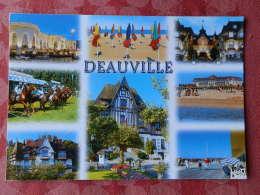 Dep 14 , Cpm  DEAUVILLE ,  En Normandie , Photos ; F. Godard , N. Pert , Multivues  (437) - Deauville