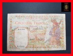 Algeria  50 Francs 29.11.1944  P. 87  F - Argelia