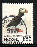 NORVEGE. N°785 Oblitéré De 1981. Macareux-moine. - Other