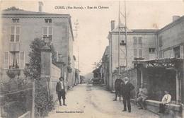 CUREL - Rue Du Château - Francia