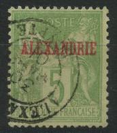Alexandrie (1900) N 5  Type I (o) - Oblitérés