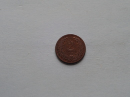 1897 - 2 Filler / KM 481 ( Uncleaned - For Grade, Please See Photo ) ! - Hungría