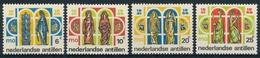 Scott # 304-307 - Education - School - 1966 - Postfrisch - Niederländische Antillen - Antillen