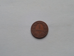1860 A - 1 Kreuzer / KM 2186 ( Uncleaned - For Grade, Please See Photo ) ! - Autriche