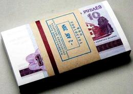 100 Notes Bundle BELARUS 10 Rub 2000 UNC - Belarus