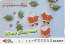 JAPAN - PREPAID-0980 - CHRISTMAS - Japan