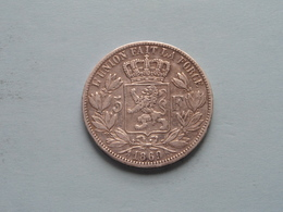 1869 - 5 Franc / KM 24 ( Uncleaned - For Grade, Please See Photo ) ! - 09. 5 Francs