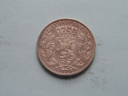1873 - 5 Franc / KM 24 ( Uncleaned - For Grade, Please See Photo ) ! - 09. 5 Francs