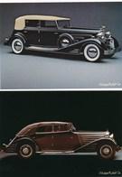 Lot De 2 Cartes ( Format 16,5 X 11,5 Cm ) Car 12 Maybach Zeppelin Cadillac All Weather Phaeton ( édition Michel + Co - Cartes Postales