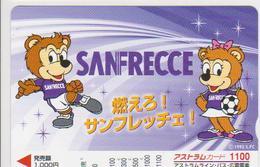 JAPAN - PREPAID-1012 - FOOTBALL - SANFRECCE - Japan