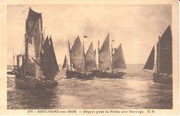 (62) Pas De Calais -Boulogne-sur-Mer - Départ Pour La Pêche Aux Harengs - Boulogne Sur Mer