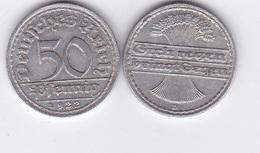 Germany - 50 Pfennig 1922 - D VF+ Lemberg-Zp - [ 3] 1918-1933 : Weimar Republic