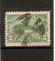 NEWFOUNDLAND 1896 - 1898 2c GREEN SG 64 FINE USED Cat £70 - Newfoundland